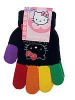 Перчатки на девочку разные пальчики