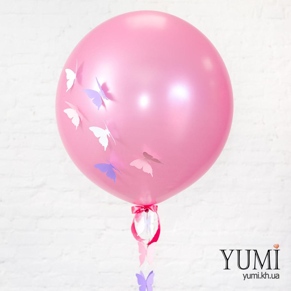 Воздушный шар-гигант с декором