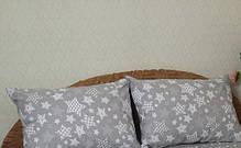 Постельное белье Постельное белье ранфорс Россыпь звезд + зигзаг ТМ Царский дом  (Полуторный), фото 2