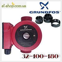 Насос циркуляционный Grundfos UPS 32-100 (база 180 мм), фото 1