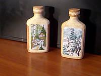 Бутылка малая из бересты