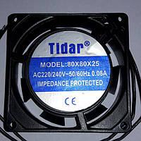 Вентилятор для инкубатора 220В 80*80