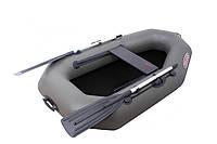 Одноместная надувная ПВХ лодка Vulkan V190 L (ps) хаки