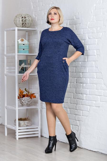 Стильное женское платье ангора