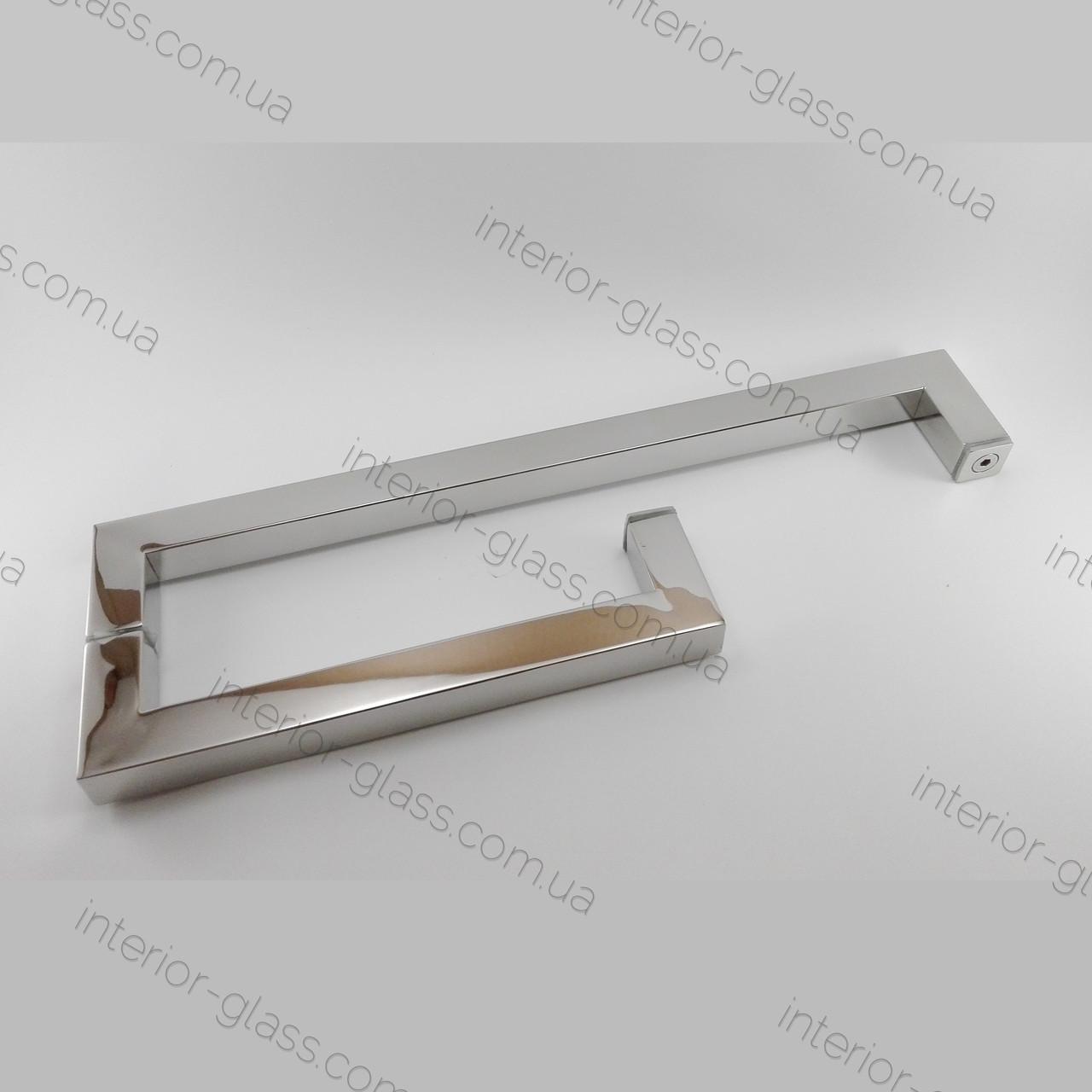 Квадратная ручка под полотенце HDL-623 PSS полированная
