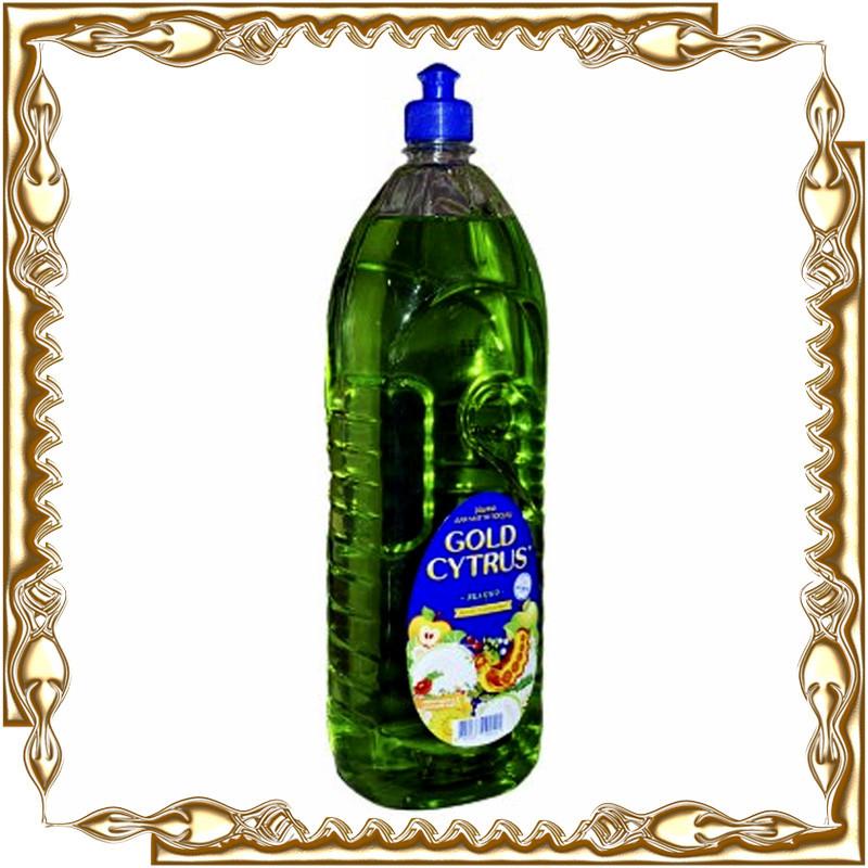 Средство для мытья посуды Gold Cytrus 1,5 л.
