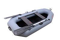 Двухместная надувная ПВХ лодка Vulkan V230 L(ps) сталь