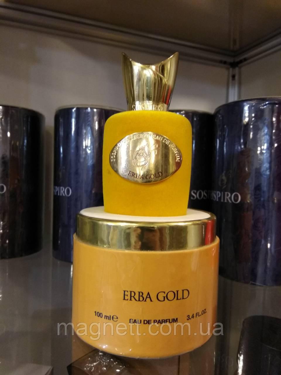 Sospiro Perfumes Erba Gold тестер 100ml