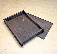 Пенал деревянный 25х34 (А4) Венге