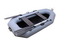 Двухместная надувная ПВХ лодка Vulkan V230 LS(ps) сталь
