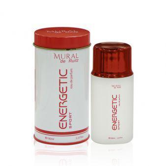 Мужская парфюмированная вода Energetic Sport 100 ml. Mural De Ruitz. (100% ORIGINAL)