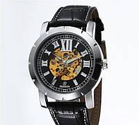 Механические Часы скелетоны GOER с автоподзаводом  оптом (код 36505)