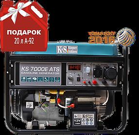 Генератор бензиновый Konner&Sohnen KS 7000E ATS (5,5кВт)