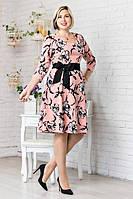 Нарядное женское платье полубатал, фото 1