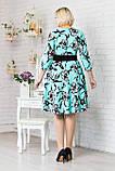Модное женское платье с поясом, фото 2