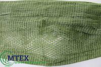 Ячейка 5 мм. Ширина 300 ячей. 93,5tex (1 мм.) Дель рыболовная ниточная безузловая капроновая (полиамидная).