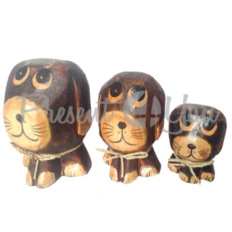 Семья собак «Одуванчик», h-12, h-10, h-8 см