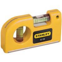 """Уровень Stanley  """"Pocket Level"""" карманныйl, L=87мм."""
