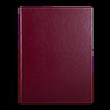 Книга канцелярська А4 192л. ТП клітина бумвініл, фото 3