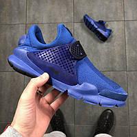 41 размер - Мужские Кроссовки Sock Dart синие
