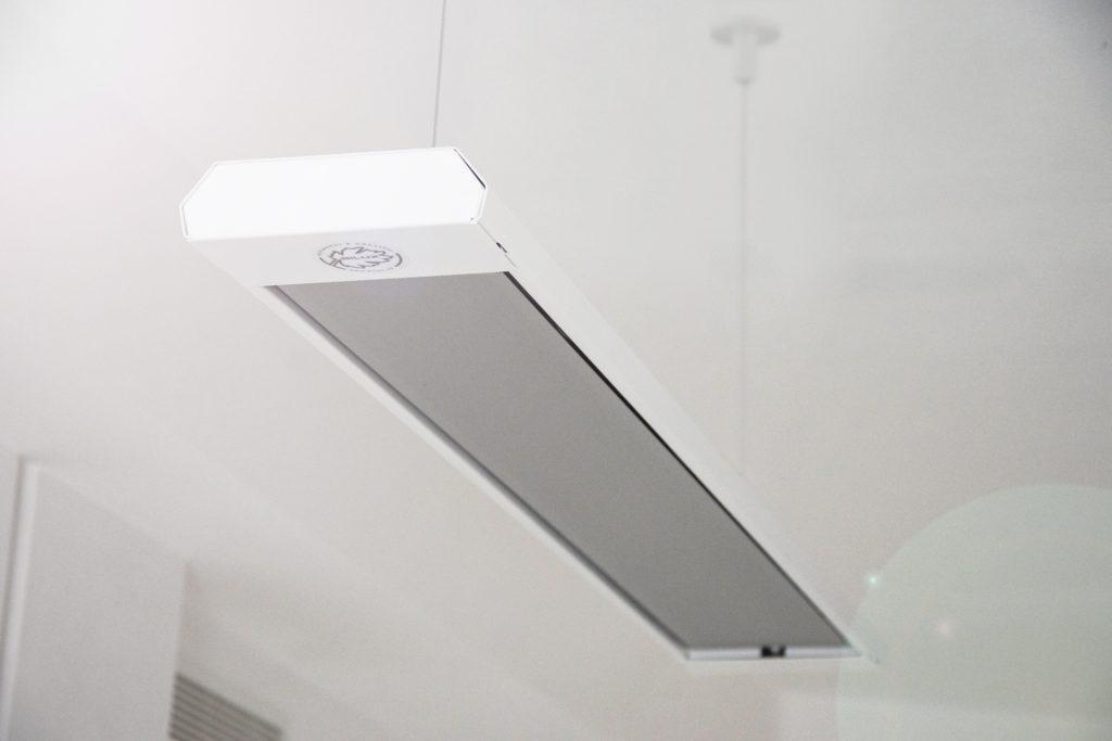 Билюкс Б400 инфракрасная потолочная панель энергосберегающий обогреватель, фото 1