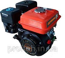 Двигатель бензиновый Gerrard G200  (6,5 л.с., ручной стартер, шпонка Ø19мм, L=58мм) + доставка