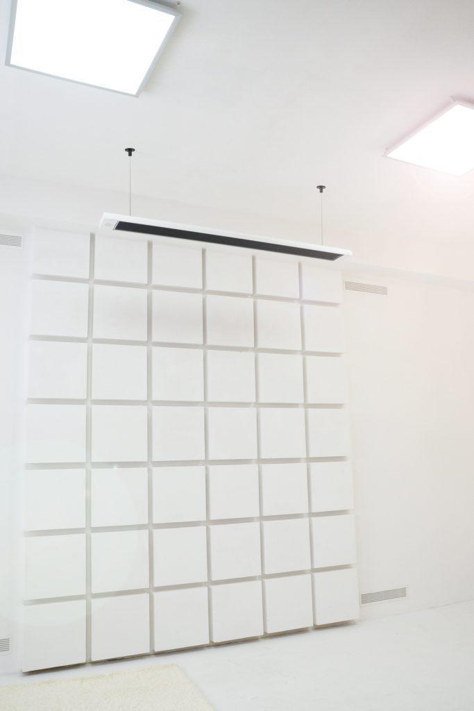 Билюкс Черно-белый Б1000 инфракрасная потолочная панель энергосберегающий обогреватель
