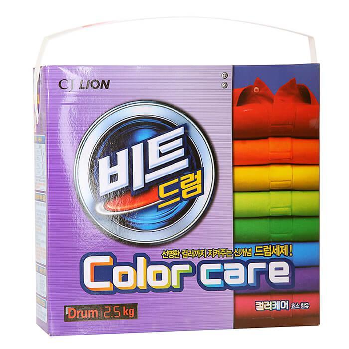 Стиральный порошок для цветного белья Lion Beat Drum Color Care 2.5 кг