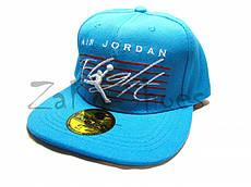 "Кепка реперка ""Air Jordan"" (Blue)"