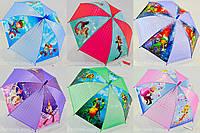 """Детский зонтик трость оптом с красочными рисунками на 4-6 лет от фирмы """"Monsoon""""., фото 1"""