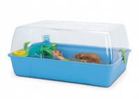 Клетка для грызунов (хомяков, мышей) Savic РОДИ ХАМСТЕР, пластик, 55*39*26см, ярко-голубой