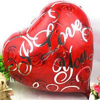 """Шар воздушный фольгированный Сердце 18"""" Roses"""