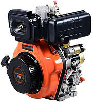 Дизельный двигатель Gerrard G186  (10 л.с., ручной стартер, шпонка Ø25,4мм, L=72,2мм) + доставка