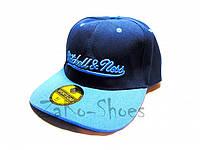 "Кепка реперка ""Mitchell & Ness"" (Blue), фото 1"