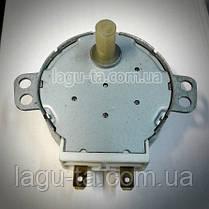Моторчик вращения тарелки микроволновки 30 в, фото 2