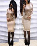 Платье О-2399 с люрексом, фото 1