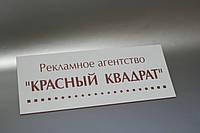Табличка лазерная гравировка 100х300 мм