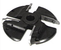 Фреза с механическим  креплением ножей (4 к-кта 16 ножей) для изготовления филёнки 160х32