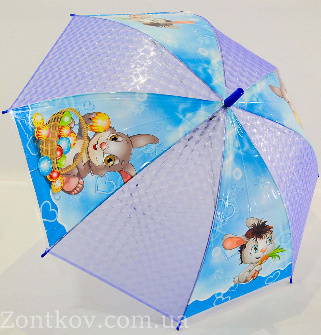 """Детский зонтик трость с """"зверушками"""" на 4-6 лет от фирмы """"Monsoon""""."""