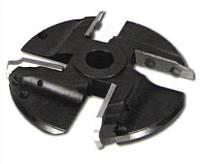 Фреза с механическим  креплением ножей Р18 (4 к-кта ножей) для изготовления филёнки 160х32
