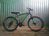 Горный велосипед Titan Street 26 дюймов черно-зеленый