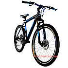 Горный велосипед Titan Street 26 дюймов черно-синий, фото 8