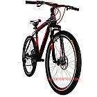 Горный велосипед Titan Street 26 дюймов черно-красный, фото 4
