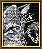 "Алмазная мозаика ""Кот с бабочкой"""