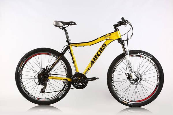 """Горный велосипед ARDIS NEVADA  MTB 26"""" 17""""  Желтый/Черный"""