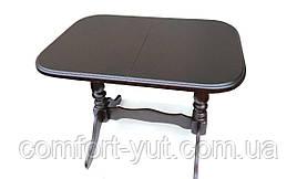 Стол Аврора обеденный раскладной деревянный 101(+35)*69 венге