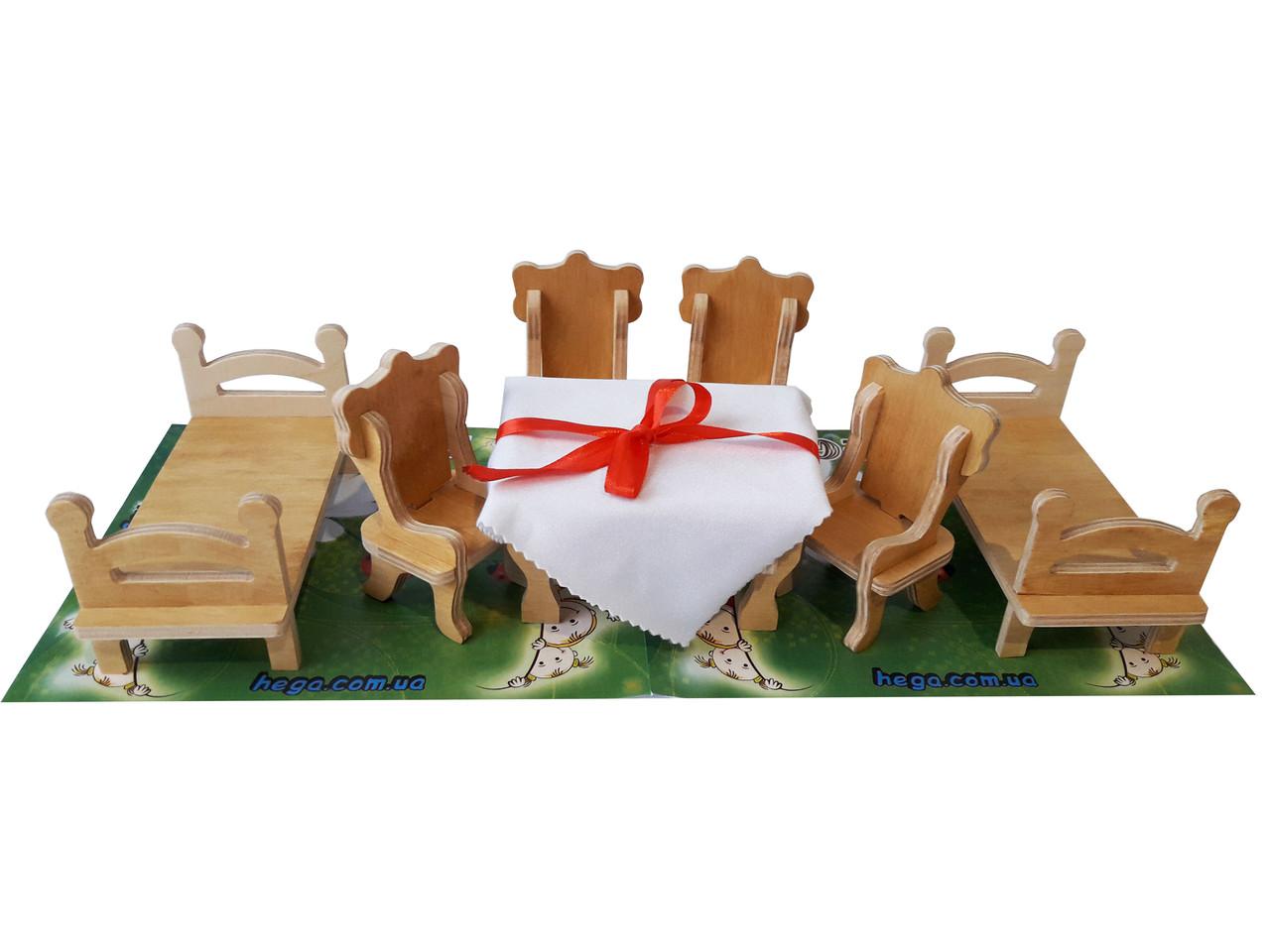 Мебель для кукол (maxi набор)