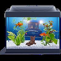 Аквариум Tetra (Тетра) Minions с миньонами для золотой рыбки LED,  30 литров