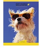 "Блокнот   ""YES"" Human friends. Dog 681011"