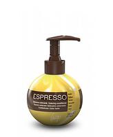Espresso balsam Бальзам восстанавливающий с окрашивающим эффектом Желтый, 200 мл